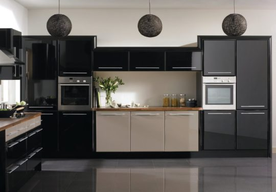 Черная кухня фото дизайн