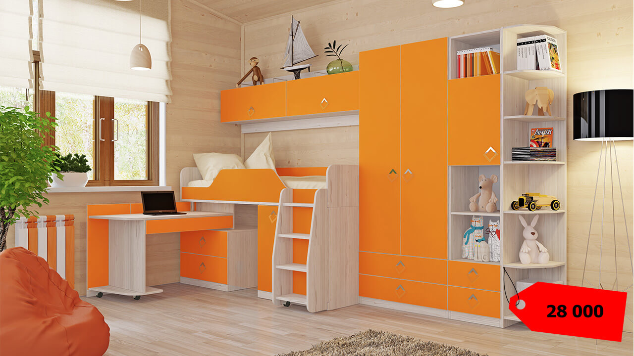 мебель-для-детской-комнаты-фото