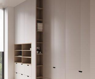 распашной шкаф в спальню фото