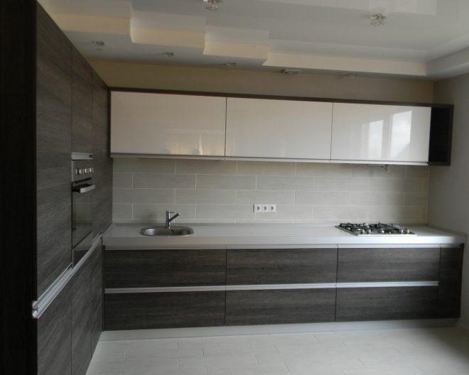 Темная кухня Loft фото заказа № 77