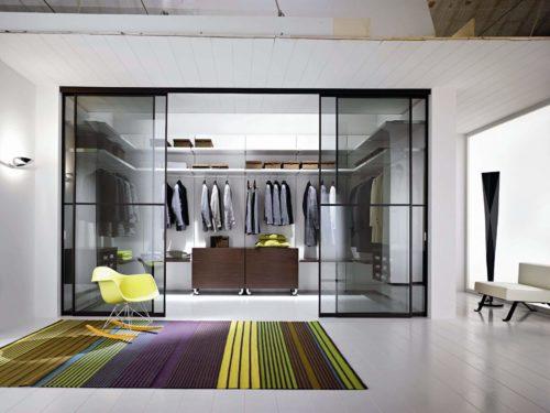 гардеробная комната фото интерьера