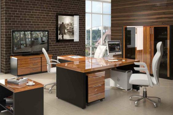 письменный стол на заказ в кабинет фото