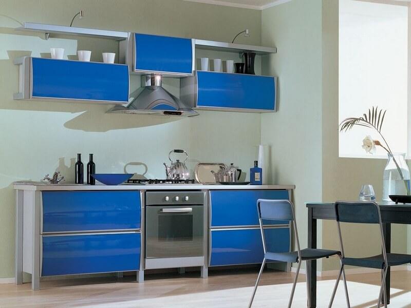 подборка оттенков мебели на кухню