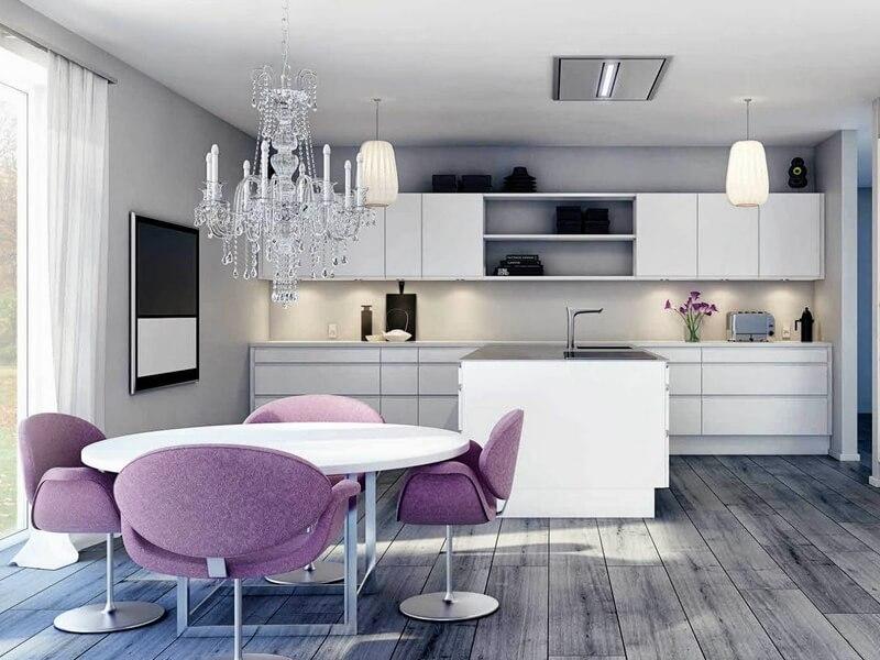 выбираем цвет для кухонной мебели
