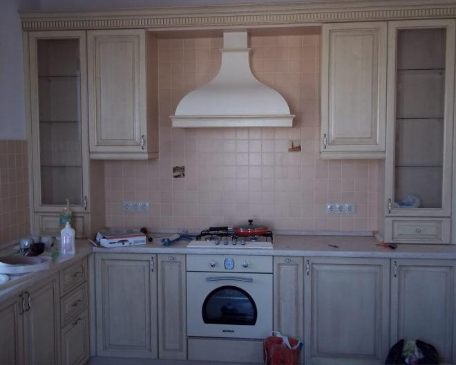 Деревянная кухня Вилладжио фото заказа № 197