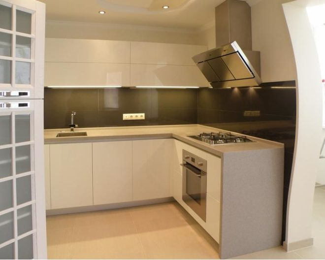 Белая кухня LUIZA фото заказа № 116