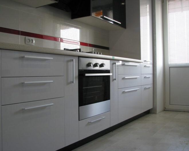 Черно-белая кухня ИНЬ-ЯНЬ фото заказа № 193