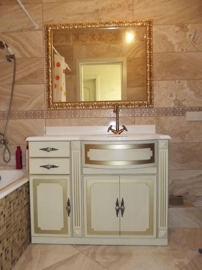 фото белой мебели для ванной комнаты
