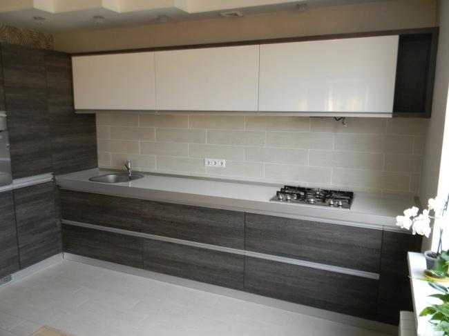фото комбинированной кухни