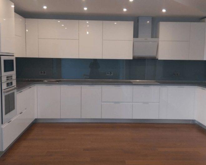 Кухня белая Локарно фото заказа № 164