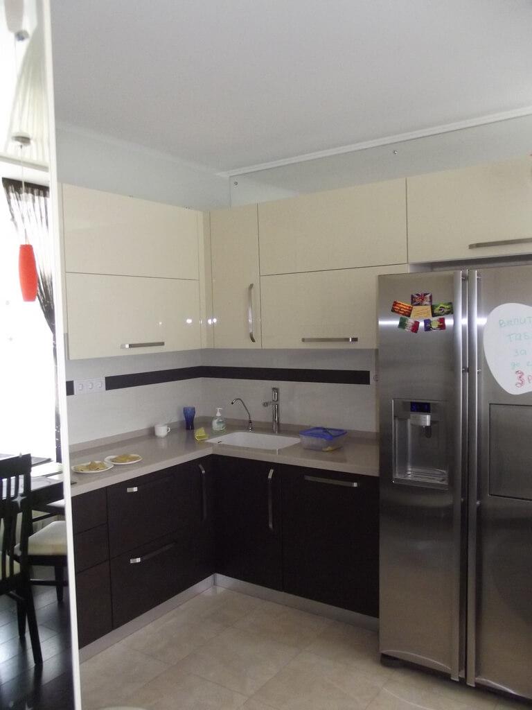кофейная кухня в интерьере фото