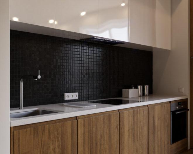Комбинированная кухня Сантана фото заказа № 156