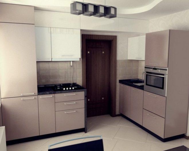 Кремовая кухня МОККО фото заказа № 183