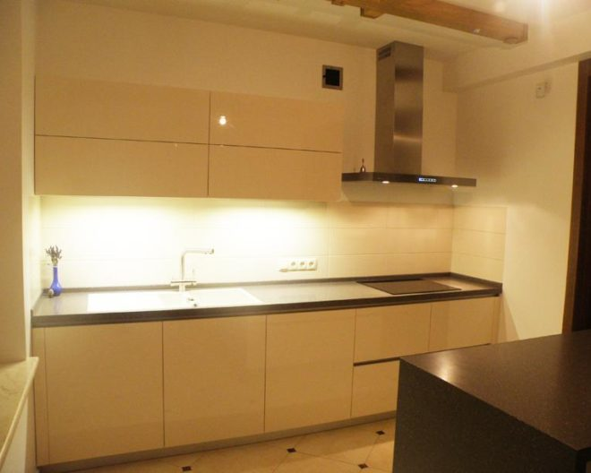 Кремовая кухня Vanilla фото заказа № 117