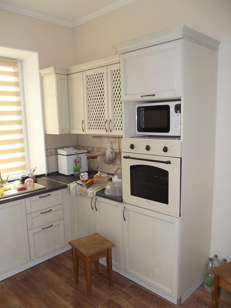кухни деревянные фасады фото
