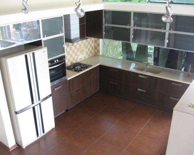 Коричневая кухня ЛИЗА фото заказа № 172
