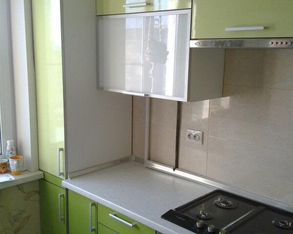 Салатовая кухня КИВИ фото заказа № 177