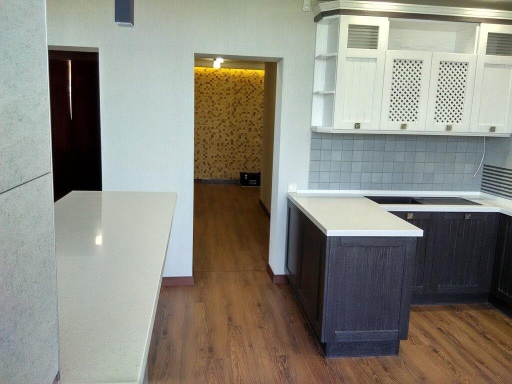 кухонные фасады из дерева фото