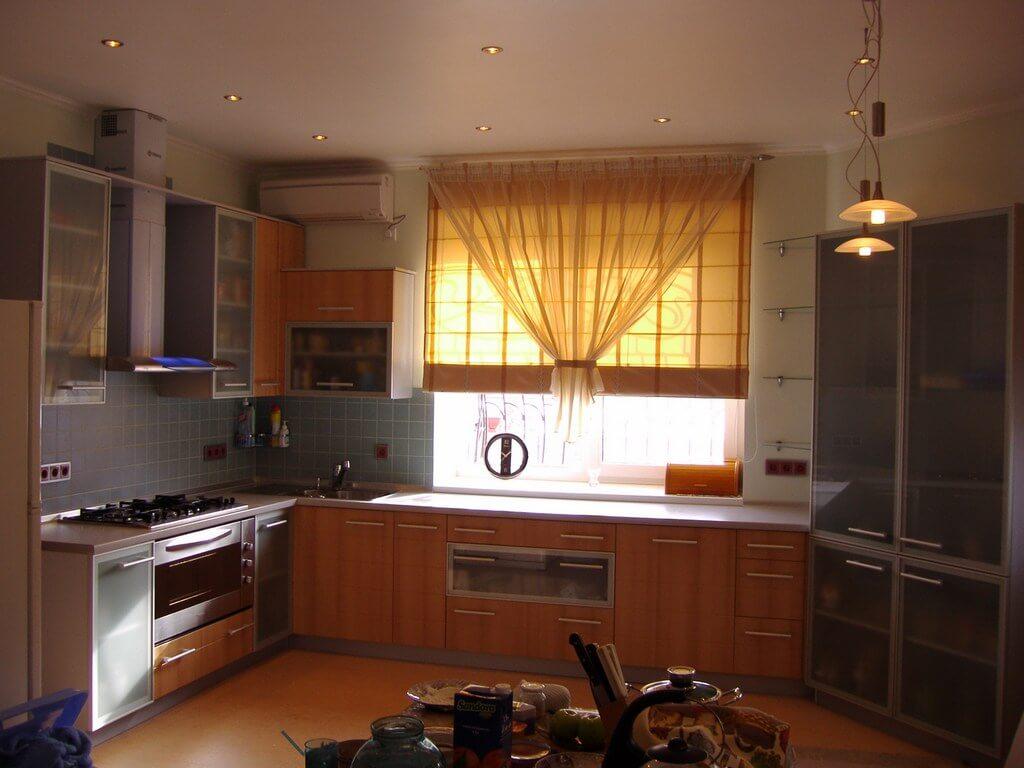 песочная кухня в интерьере фото