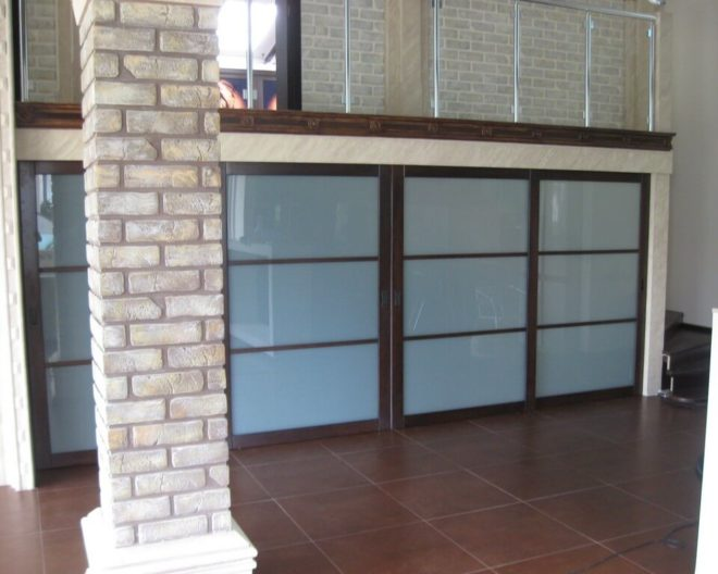 Шкаф под лестницей фото заказа № 240