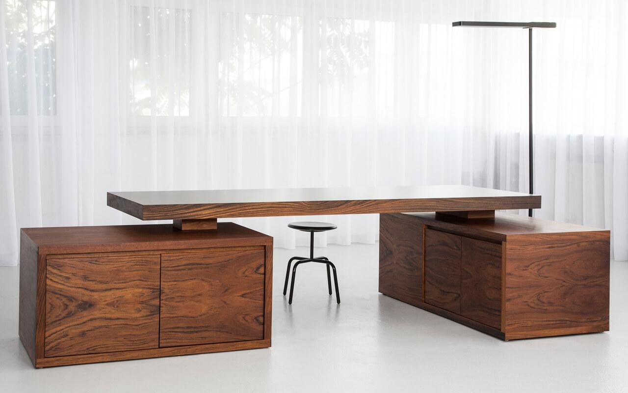 шпонированная мебель для офиса фото