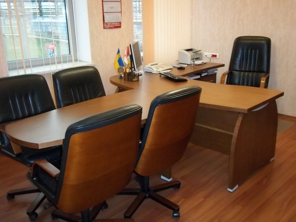 шпонированный стол фото