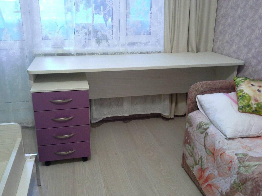 письменный стол в детскую комнату фото