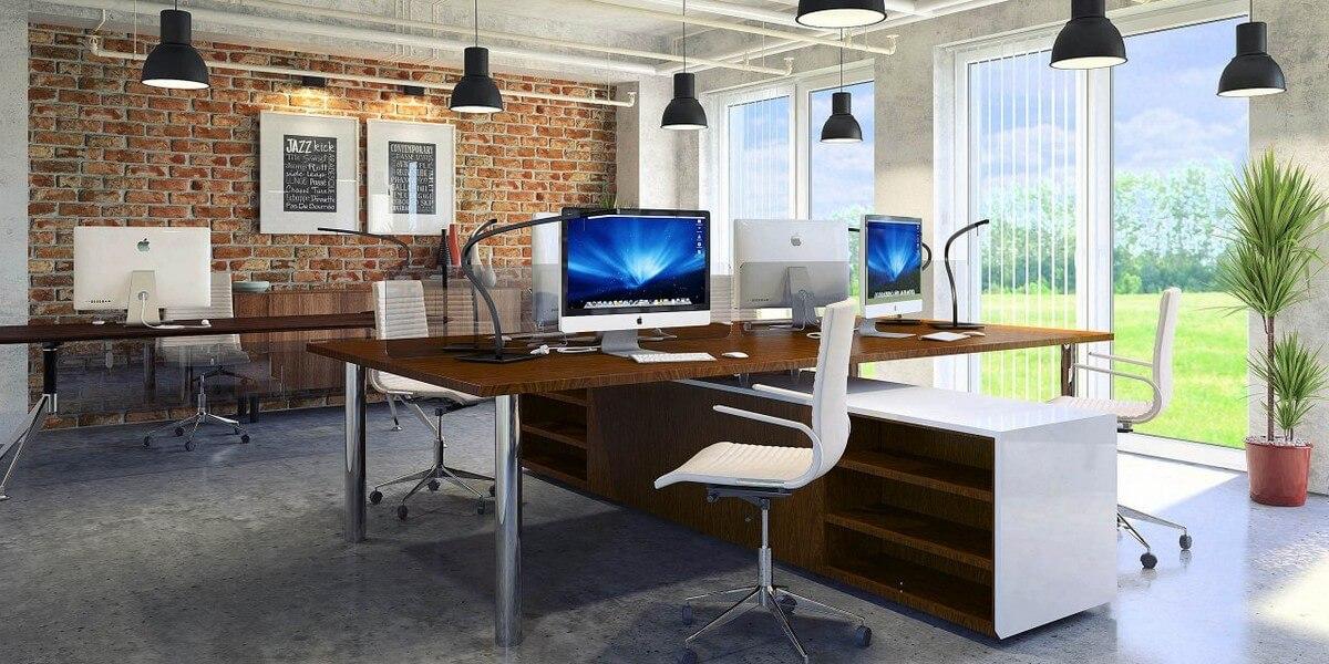 промышленный дизайн в интерьере офиса фото