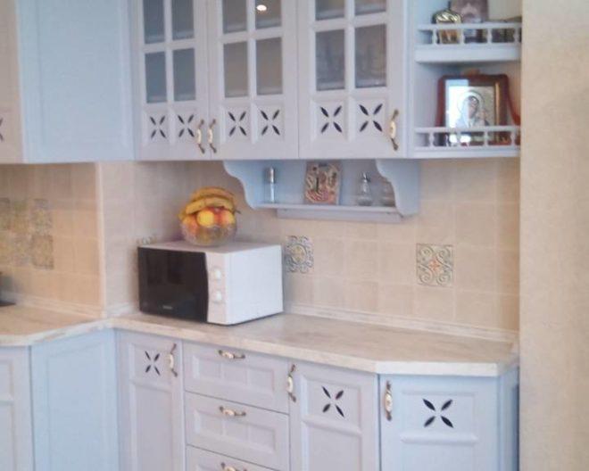 Голубая кухня Lutik фото заказа № 206
