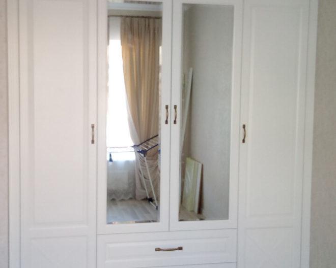 Шкаф распашной фото заказа № 322