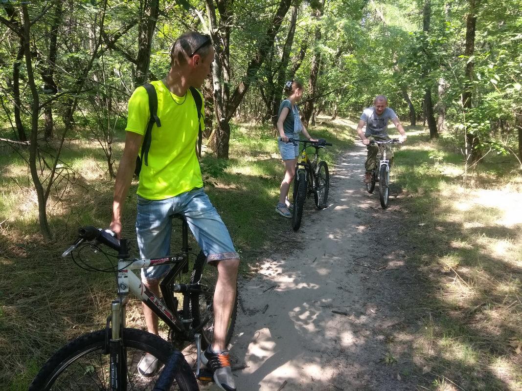 велопрокат на Хортице фото