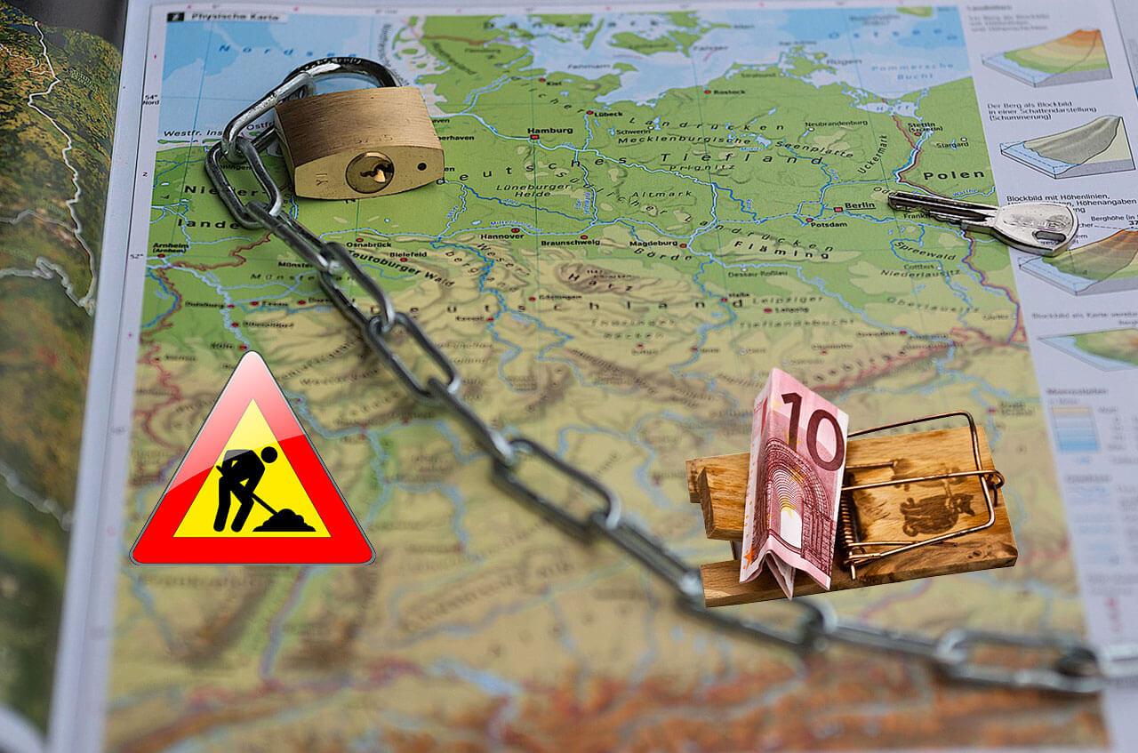 Работа в Германии — как не попасть на мошенников?!